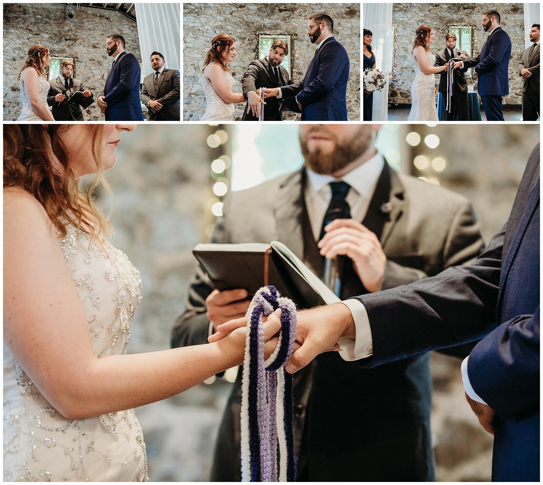 irish tradition wedding ceremony tying the knot