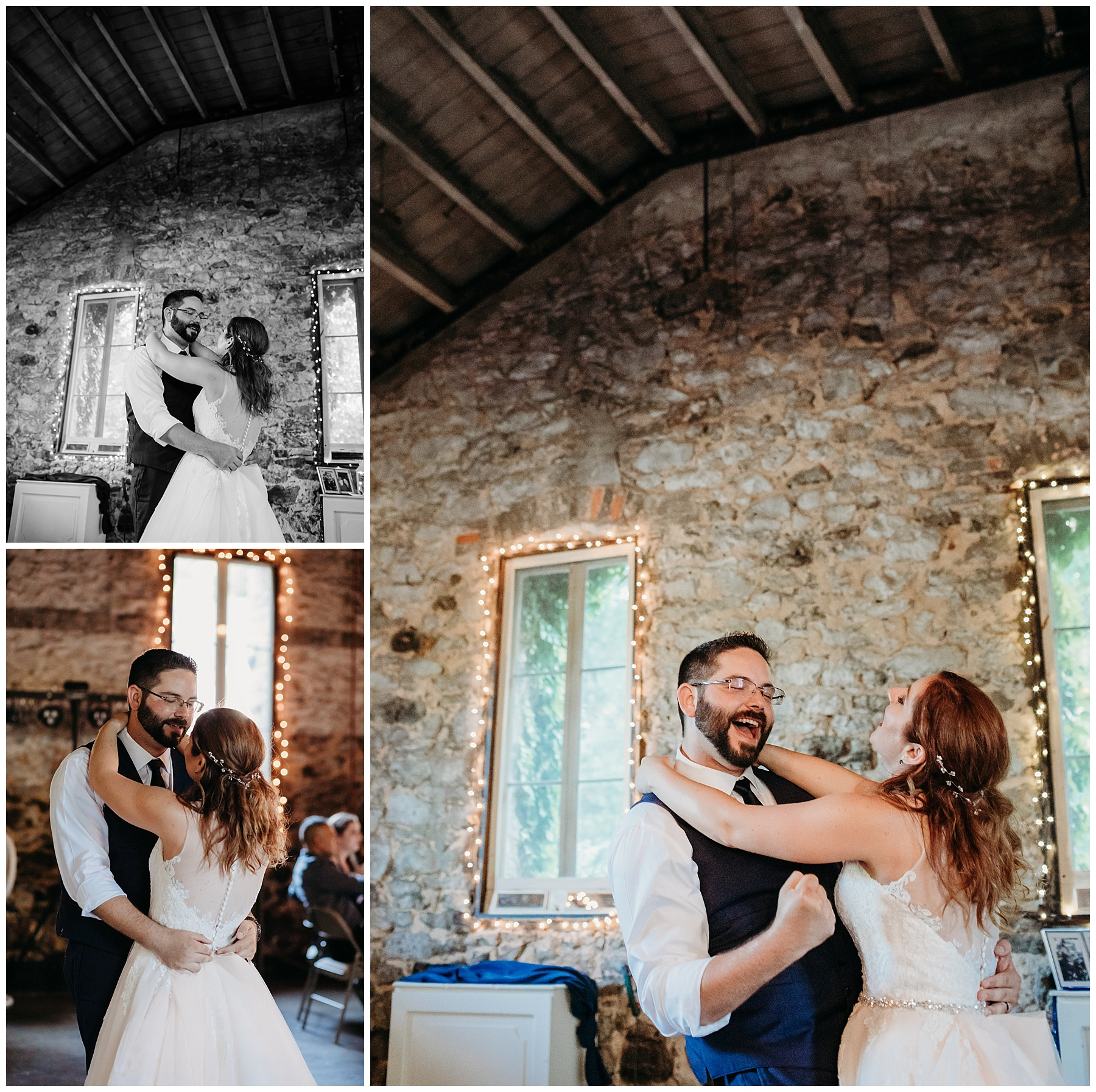 miners foundry bride and groom first dance