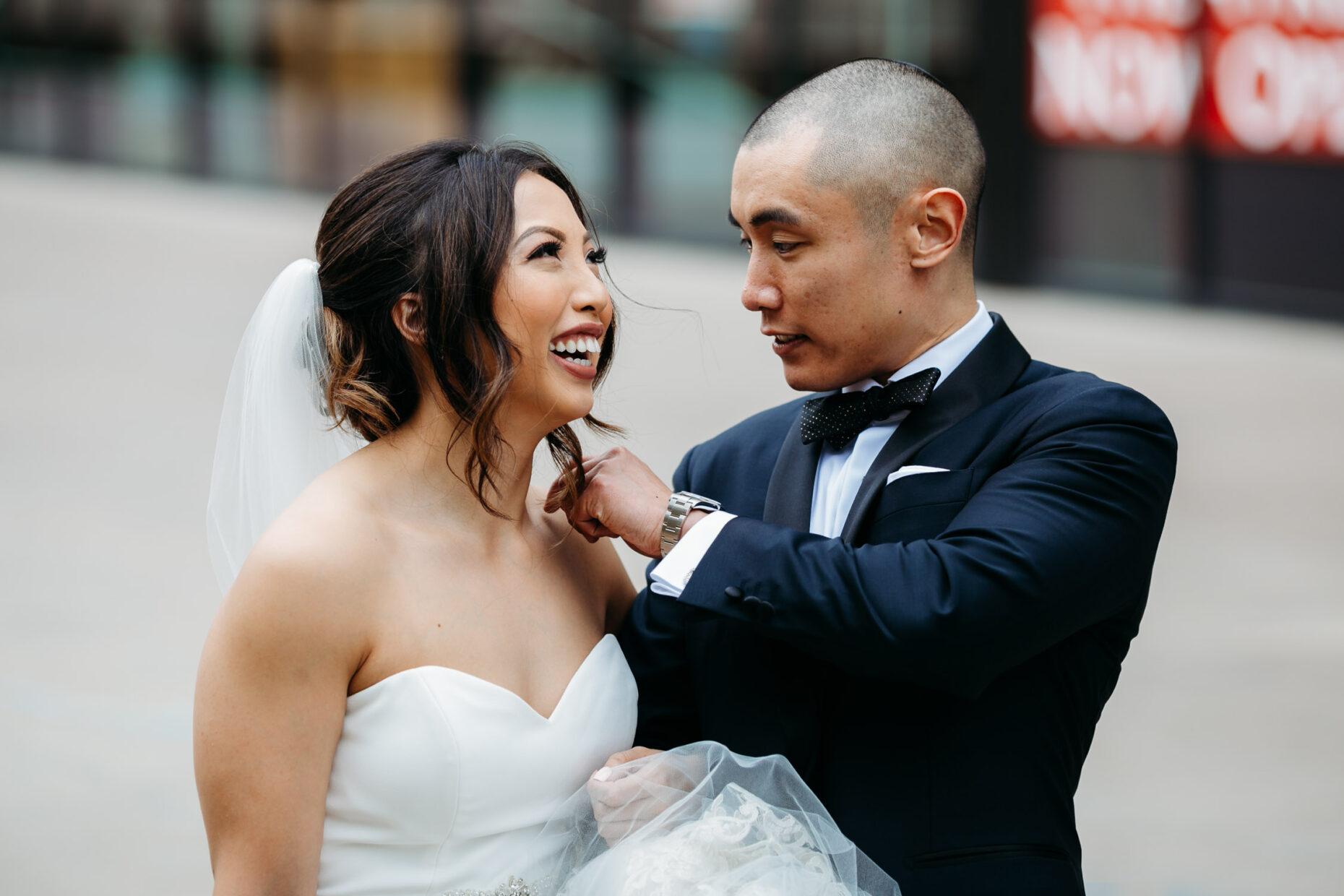 Sacramento wedding photographer documenting organic moments between couples