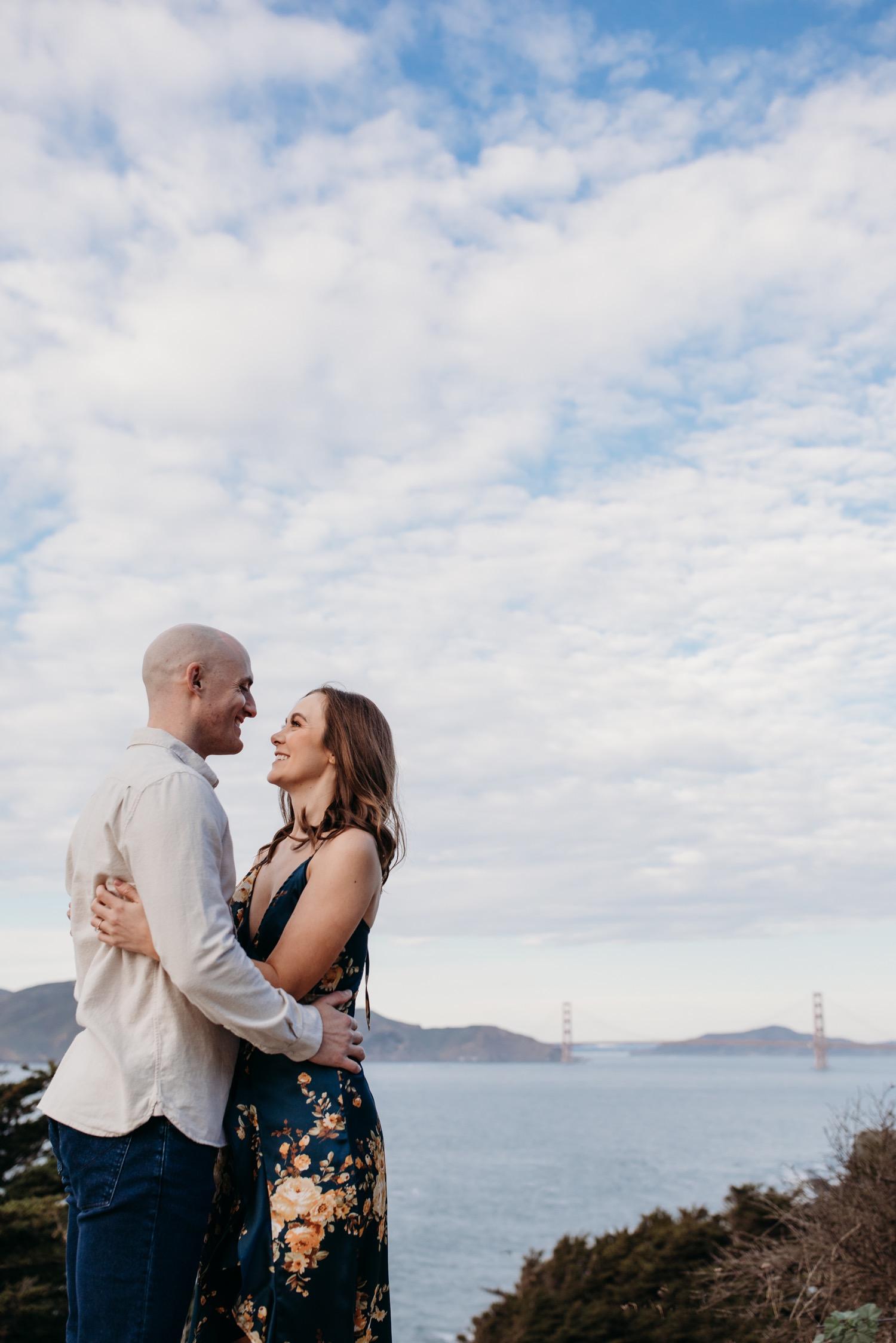 Sutro Baths Engagement Photos